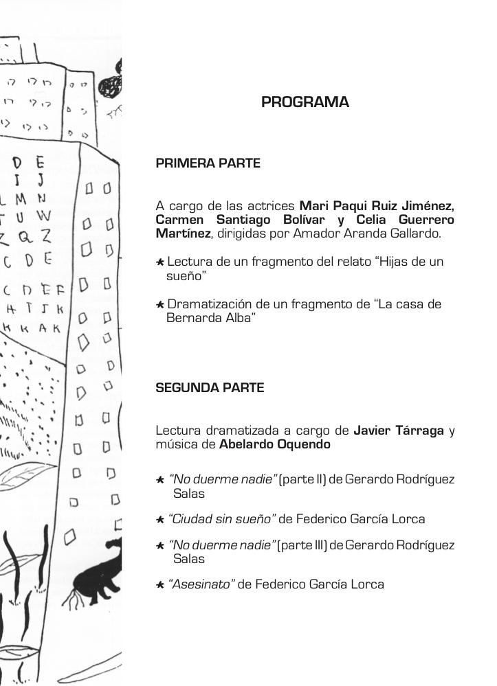 Lorca programa