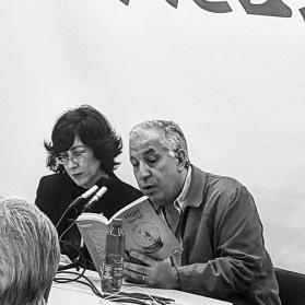 Encarni Hidalgo y Pepe Ruiz Más (foto de Carmen Aguilera)