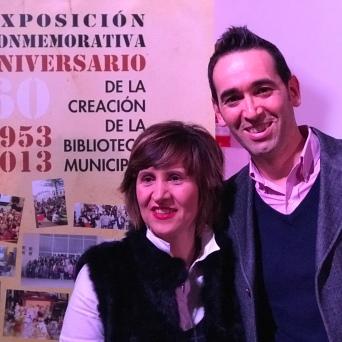 Con Mª Ángeles Cabrerizo